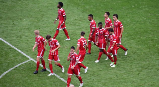 VIDEO/ Debuton James Rodriguez, triumfon Bayern Munchen