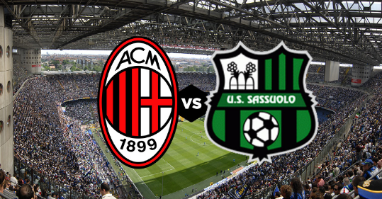 Milan – Sassuolo, formacionet zyrtare