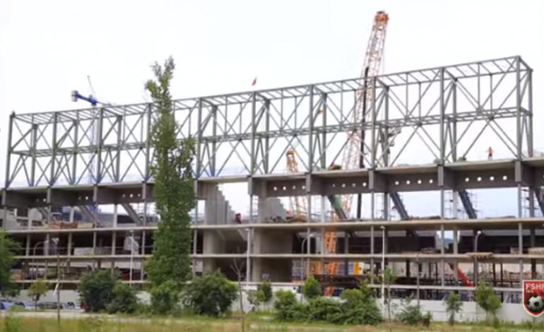 """VIDEO/ """"Shtëpia"""" e Kombëtares merr formë nga punimet intensive, FSHF publikon pamjet"""