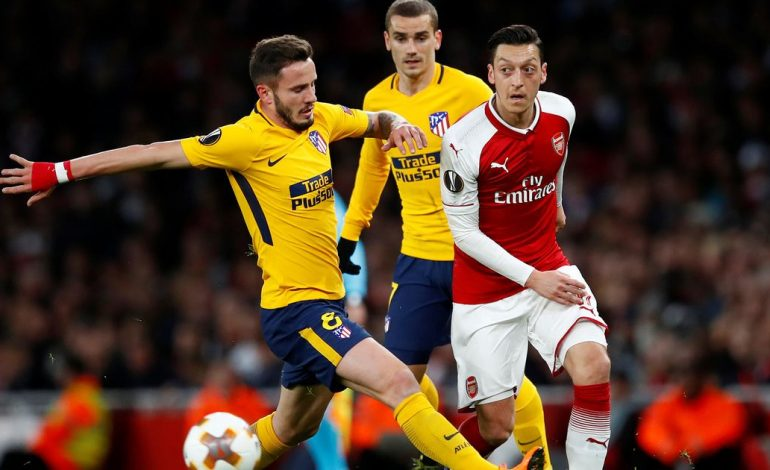 Atletico Madrid-Arsenal, formacionet zyrtare