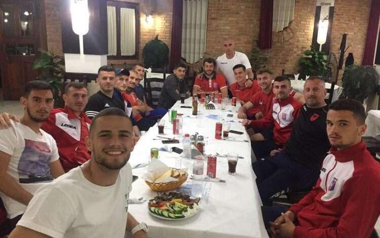 FOTO/ Vllaznia B siguroi qëndrimin në Kategorinë e Parë, trajneri Kraja i lumtur: Skuadra do shpëtojë, Zoti do na shpërblejë