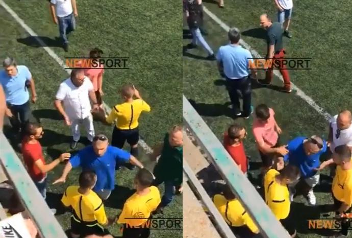 SKANDAL i madh në KAMËZ, prindërit e futbollistëve të PARTIZANIT terrorizojnë arbitrat: Rrot ka*i, ua kishte dhënë lekët Armand DUKA (VIDEO EKSKLUZIVE)