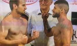 """LAJMI I FUNDIT/ Florian Marku i tregon """"muskujt"""" boksierit serb, kalohet me sukses faza e parë"""