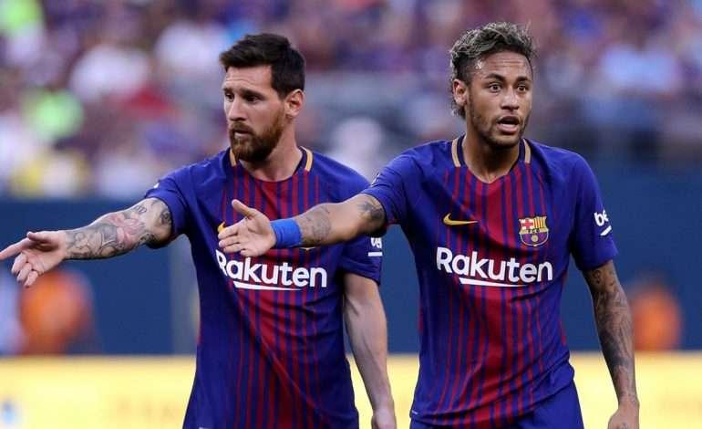 "MESSI i ndal ""hovin"" NEYMAR-it: Eja te Barcelona"