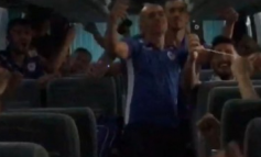 Kukësi kthen në festë kualifikimin, verilindorët ia marrin këngës në autobus