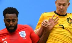"""FOTO/ Lojtari i Anglisë me çorape me vrimë në ndeshjen kundër Belgjikës, """"plas"""" gallata në internet"""