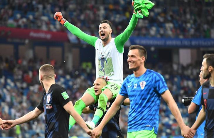 FOTO/ Heroi i Kroacisë me tre penallti të pritura, Subasiç dedikim special për shokun e tij