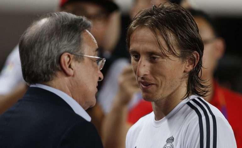 """Perez – Modriç, takimi i shumëpritur mban në """"ankth"""" INTERIN"""