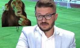 FOTO/ Drejtori i KAMZËS injoron keq gazetarin e njohur, e krahason me majmunin: Një dilemë të tillë e zbulon vetëm ai