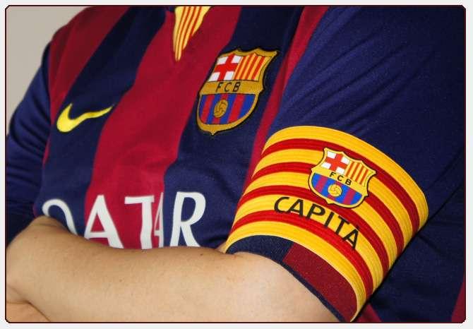 """Shiriti i kapitenit, Barcelona ia beson vetëm një """"emri"""""""
