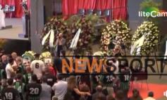 VIDEO/ Momente prekëse nga tragjedia e Xhenovas, futbollistët e skuadrës së Cornigliano Galaticos i japin lamtumirën lojtarit shqiptar MARJUS DJERRI