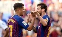 Barcelona nuk zhgënjen, Messi protagonist me gol historik