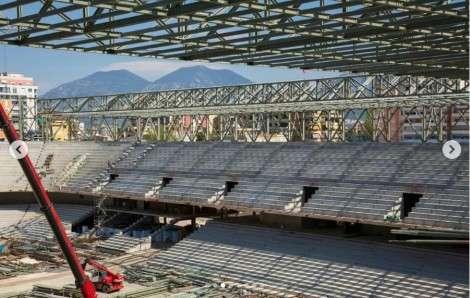 FOTO + VIDEO/ Arena Kombëtare merr formë, FSHF-ja publikon pamjet e reja