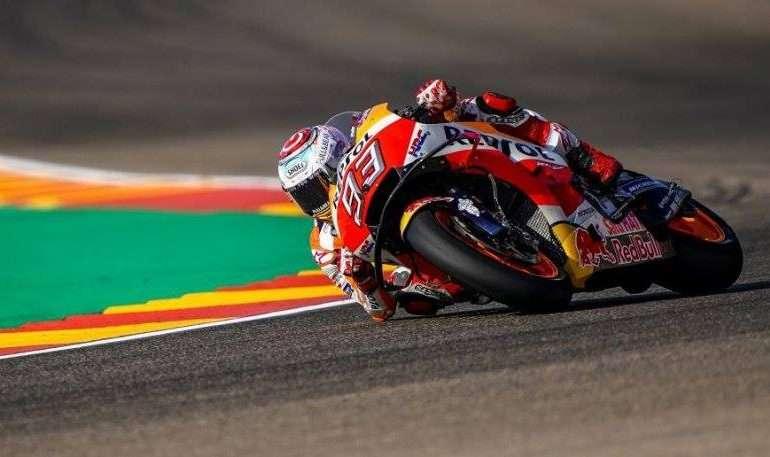 Moto GP/ Pothuajse e mbyllur, Marquez prek titullin me një dorë në Aragoni