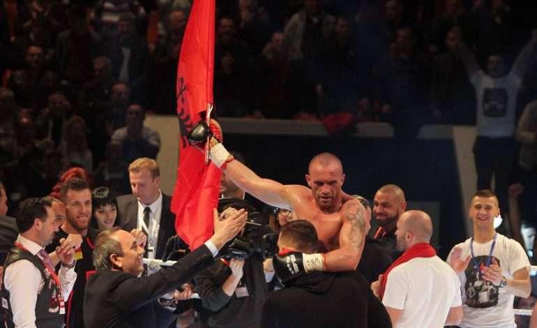 Kampion bote në boks, Gjetan KETËS i bëhet pritje e veçantë në Maqedoni