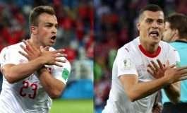 """Zvicra feston falë shqiptarëve, Xhaka dhe Shaqiri bëjnë """"ligjin"""" ndaj Islandës"""