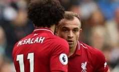 """Liverpool-i """"fluturon"""" në krye të tabelës, Shaqiri shkëlqen dhe bën Salah-un """"hero"""""""