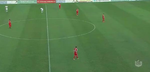 VIDEO/ Skënderbeu i vogël përballë LAÇIT, korçarët bien aty ku mundën Partizanin