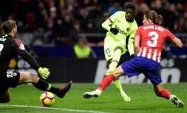 """La Liga merr """"flakë"""", Barcelona shpëton me """"bishtin nëpër shalë"""" nga """"furia"""" Wanda Metropolitano"""
